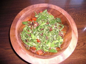 pea and pesto salad