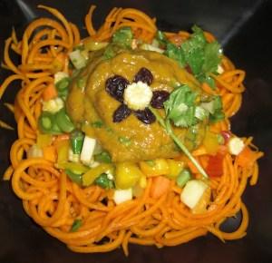 golden curried noodles